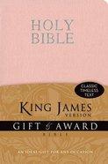 KJV Gift and Award Pink Imitation Leather