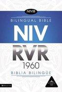 Rvr1960/Niv Biblia Bilingue Indexed Black (Bilingual Bible) Imitation Leather