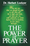 Power of Prayer Paperback