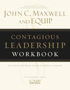 Contagious Leadership Workbook Paperback