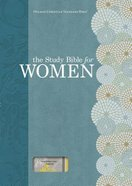 HCSB Study Bible For Women Personal Size Indexed Yellow/Gray Linen Printed Hardback