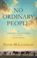 No Ordinary People Paperback