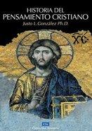 Historia Del Pensamiento Cristiano (History Of Christian Thought) Hardback