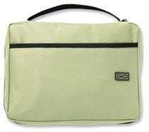 Bible Cover Canvas Light Green Extra Large
