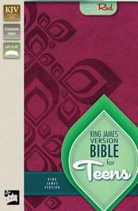 KJV Bible For Teens Razzleberry (Red Letter Edition)
