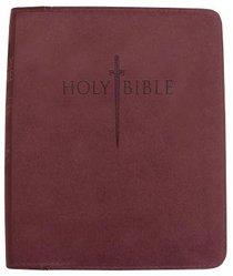 Kjver Sword Personal Size Large Print Study Bible Burgundy