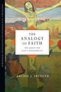 The Analogy of Faith Paperback