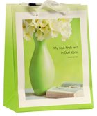 Gift Bag Small: Soul Finds Rest (Incl Two Sheets Tissue Paper & Gift Tag) Stationery
