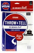 Throw & Tell Ball: Ice-Breakers Novelty