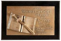 Moments of Faith Sculpture Box: Word of God (Hebrews 4:12)