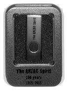 Anzac Spirit Gift Usb in Metal Presentation Container Pack