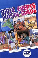 Bible Events: Playing Cards Cards