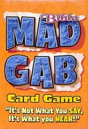 Bible Big Deal Mad Gab Card Game Game