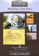 "Boxed Cards Praying For You: Thomas Kinkade - ""Painter of Light"" Box"