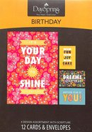 Boxed Cards Birthday: Joy Box