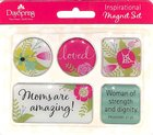 Magnetic Set of 5 Magnets: Beautiful Beyond Words Proverbs 31:25