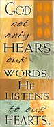 Bookmark Magnetic: God Not Only Hears Our Words.... Stationery