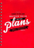 Wirebound Notepad: Your Plans Will Succeed Spiral
