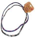 Stretch Headbands: Zebra & Crosses (2 Pack) Jewellery