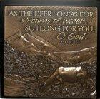 Plaque: Deer Long For You Moments of Faith (15cm X 15cm) Plaque