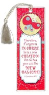 Bookmark With Tassel: Therefore If Anyone is in Christ... Stationery