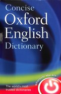 Concise Oxford English Dictionary Hardback
