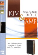 Kjv/Amp Parallel Bible (Kjv Red Letter, Amp Black Letter) Bonded Leather