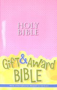 NIRV Gift and Award Bible Pink (Black Letter Edition)