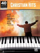40 Christian Hits (Music Book) (Piano/vocal/guitar) Paperback