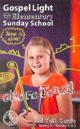 Gllw Spring D 2019 Grades 1&2 Kid Talk Cards (5 Pack For 5 Kids) (Gospel Light Living Word Series) Pack