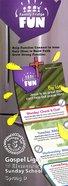 Gllw Spring D 2019 Grades 1-4 Family Fridge Fun (5 Pack For 5 Families) (Gospel Light Living Word Series) Pack