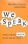 We Speak Paperback