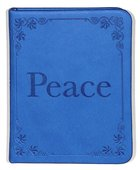 Peace (Bright Blue) (Pocket Inspirations Series) Imitation Leather