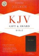 KJV Gift Award Bible Dark Brown Imitation Leather