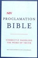 NIV Compact Proclamation Bible Hardback