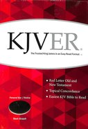 Kjver Thinline Personal Size Black Ultrasoft Imitation Leather