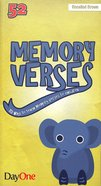 Memory Verses: 52 Way to Teach Memory Verses to Children Booklet