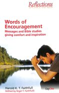 Reflections: Words of Encouragement Paperback