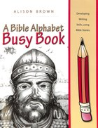 A Bible Alphabet Busy Book Paperback