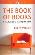 The Book of Books (Brief Books (Matthias) Series) Paperback