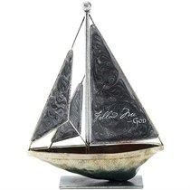 Sailboat Metal: Follow Me. God (Gray)