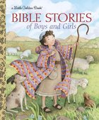 Lgb: Bible Stories of Boys and Girls Hardback
