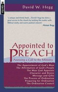 Appointed to Preach Paperback