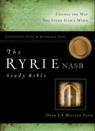 NASB Ryrie Study Bible Black (Red Letter Edition)