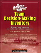 Team Ministry: Team Decision Making Inventory