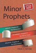 Minor Prophets - Book 1 (Classic Re-print Series) Paperback