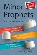 Minor Prophets - Book 2 (Classic Re-print Series) Paperback