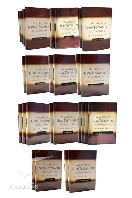 Buy complete new testament commentary set 33 vols macarthur new buy complete new testament commentary set 33 vols macarthur new testament commentary series by john macarthur online complete new testament commentary fandeluxe Images