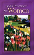 God's Promises For Women (Nkjv) Paperback