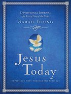 Jesus Today Devotional Journal Hardback